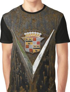 Abandoned 1948 Cadillac Emblem Detail Graphic T-Shirt