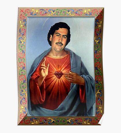 Saint Pablo Escobar Poster
