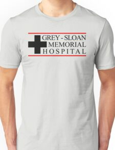 Grey Sloan Memorial Hospital Greys Anatomy Unisex T-Shirt