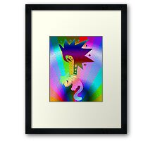RR The Falling Tear Framed Print