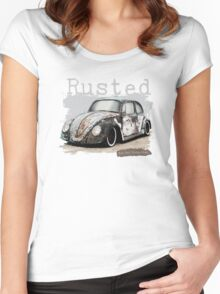 NEW Men's Classic Car T-Shirt Women's Fitted Scoop T-Shirt