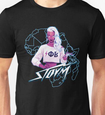 Electro Phi Beta Storm  Unisex T-Shirt
