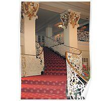 (。◕‿◕。) StairWay St.Anthony's Hotel Sanantonio Texas(。◕‿◕。)   Poster