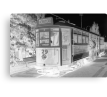 All Aboard the Ghost Tram Canvas Print