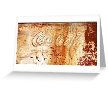 Drink Cooler Greeting Card