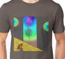 RR A Glance Though Rainbow Glass Unisex T-Shirt