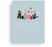 Party Like It's 1899 Canvas Print