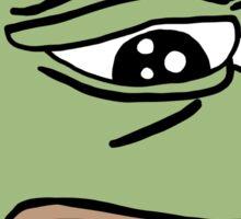 RARE PEPE Sad Frog Sticker