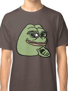 RARE PEPE Smug Pepe Classic T-Shirt
