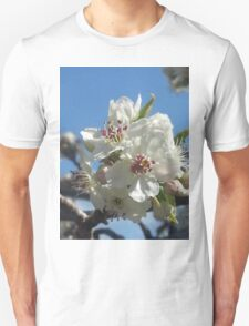 White blossoms Unisex T-Shirt