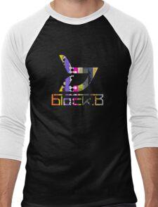 Block.b- Album logo Men's Baseball ¾ T-Shirt