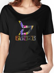 Block.b- Album logo Women's Relaxed Fit T-Shirt