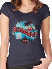 Bay Harbor Butcher Shop Women's Fitted Scoop T-Shirt