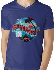 Bay Harbor Butcher Shop Mens V-Neck T-Shirt