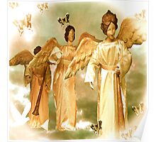 Angelic Messengers of Peace and Love Poster