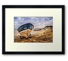 Cul-Sec Boat Framed Print