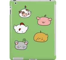 Farm Animal Blobs iPad Case/Skin