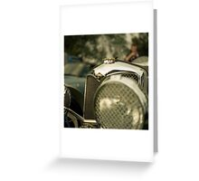 Riley Racer Greeting Card