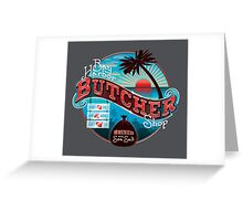 Bay Harbor Butcher Shop Greeting Card