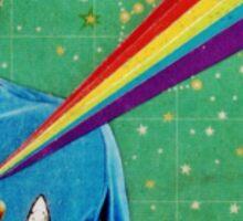 Star Trek Spock Collage Sticker