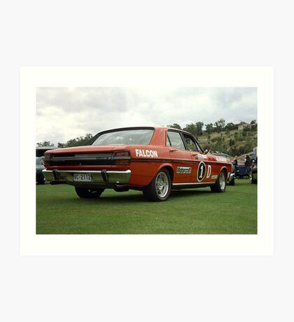 XY GT Racer Replica Art Print