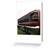 GT Tail Greeting Card