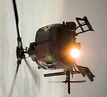 Helicopter iPad Case by Derwent-01