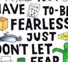 Charlie's Lesson Sticker