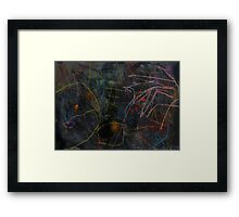 Midnight Garden cycle22 8 Framed Print