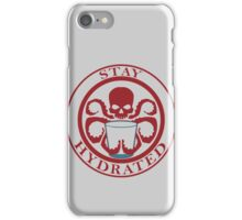 Stay Hydrated iPhone Case/Skin