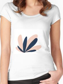 Southwest Succulent Women's Fitted Scoop T-Shirt