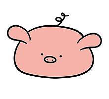 Pig Blob Photographic Print