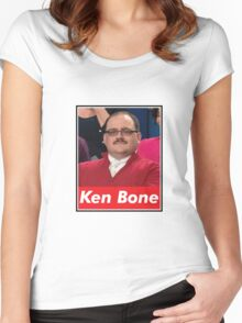 Ken Bone Women's Fitted Scoop T-Shirt