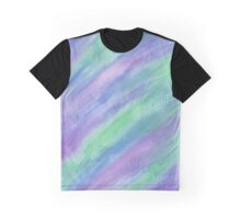 Cool Color Streaks Graphic T-Shirt