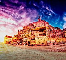Mont Saint Michel by FelipeLodi