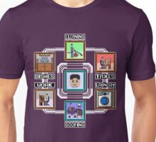 Stage Select Pixel Art Unisex T-Shirt