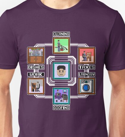 Stage Select Pixel Art Unisex T-Shirt