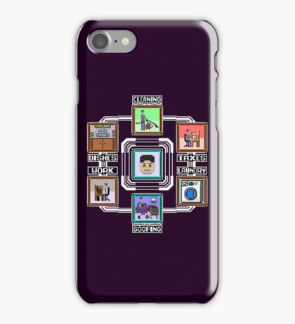 Stage Select Pixel Art iPhone Case/Skin