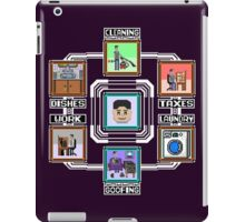 Stage Select Pixel Art iPad Case/Skin