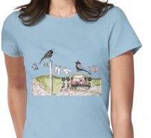Y front Womens Fitted T-Shirt