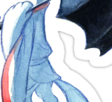 Haku and the Umbrella Sticker
