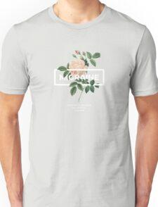 Migraine Floral Typography Unisex T-Shirt