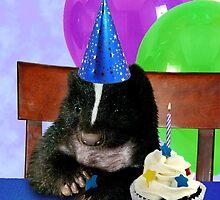 Birthday Skunk by jkartlife