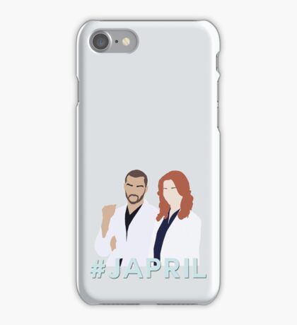 #JAPRIL - JACKSON & APRIL - GREY'S ANATOMY iPhone Case/Skin