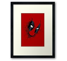 Merc with a mouth Framed Print