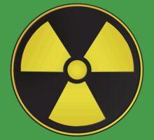 Radioactive Fallout Symbol Geek Kids Tee