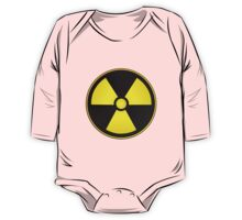 Radioactive Fallout Symbol Geek One Piece - Long Sleeve