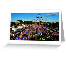 Top O' the Midway Greeting Card