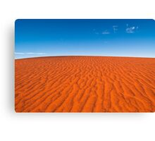 Red Sand, Blue Sky Canvas Print