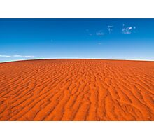 Red Sand, Blue Sky Photographic Print